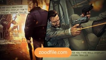 پروژه آماده افترافکت تریلر سینمایی Comic-Strip