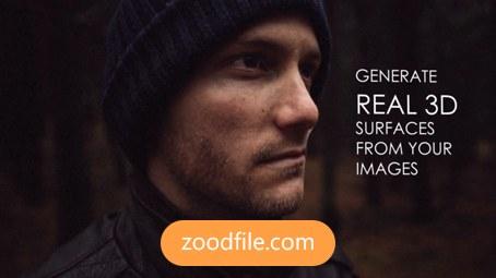 پروژه آماده افترافکت عکس 3D-Portrait