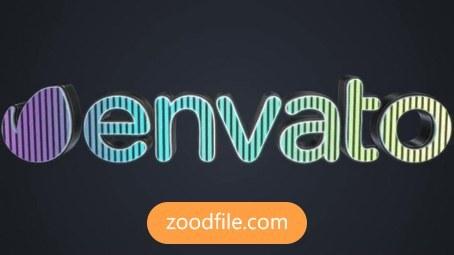 پروژه آماده افترافکت لوگو سه بعدی 3D-LED