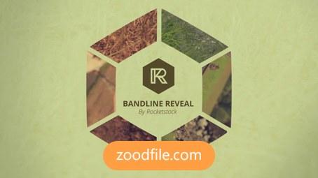 پروژه آماده افترافکت لوگو Bandline