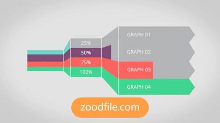 پروژه آماده افترافکت موشن گرافیک Infographics-Kit