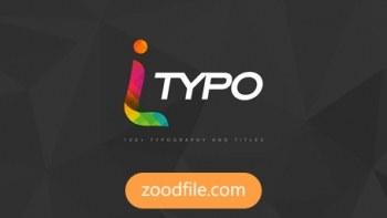 پروژه آماده افترافکت موشن گرافیک iTypo
