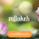 افکت ویدیویی بوکه mBokeh