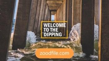 پروژه آماده افترافکت عکس Dipping
