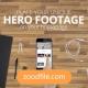 پروژه آماده افترافکت تبلیغاتی Hero-Footage