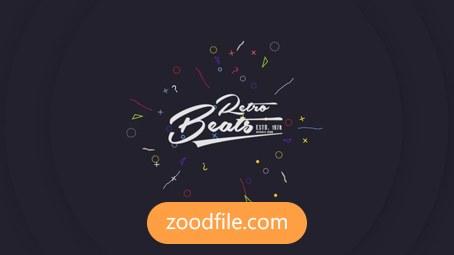 پروژه افترافکت لوگو Flat Logo