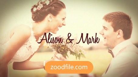 پروژه آماده افترافکت عروسی Macro