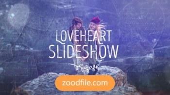 پروژه آماده افترافکت عروسی love-heart