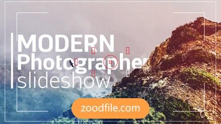 پروژه آماده افترافکت عکس Modern-Photographer
