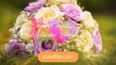 پروژه آماده افترافکت عروسی Romantic