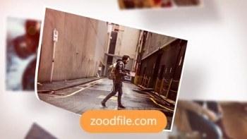 پروژه آماده افترافکت گالری عکس Photo-Slide
