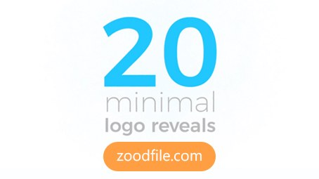 پروژه افترافکت لوگو Minimal Logo