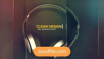 پروژه آماده افترافکت تیزر تبلیغاتی Clean-Media