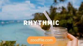 پروژه آماده افترافکت تیزر تبلیغاتی Rhythmic