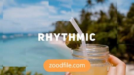 پروژه افترافکت عکس Rhythmic