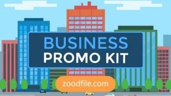 پروژه آماده افترافکت موشن گرافیک Business-Promo