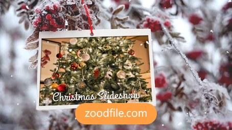پروژه افترافکت عکس Christmas