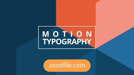 پروژه آماده افترافکت موشن گرافیک Motion