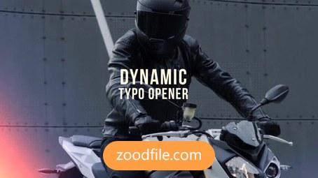پروژه آماده افترافکت وله Dynamic-Typo