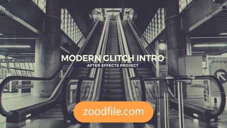 پروژه آماده افترافکت تیزر تبلیغاتی Modern-Glitch