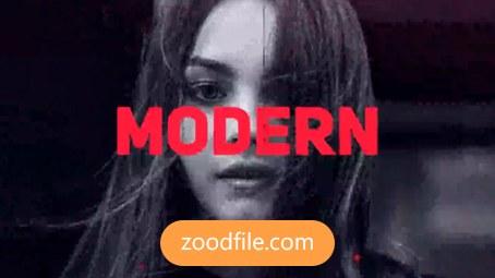 پروژه افترافکت تبلیغاتی Modern Slideshow