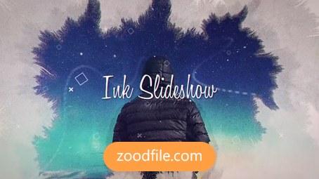 پروژه آماده افترافکت عکس Ink-Slideshow