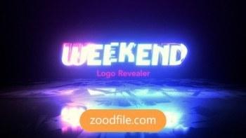 پروژه آماده افترافکت لوگو Weekend