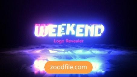 پروژه افترافکت لوگو Weekend