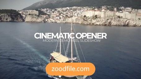 پروژه پریمیر تبلیغاتی Cinematic