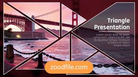 پروژه آماده پریمیر تیزر تبلیغاتی Triangle