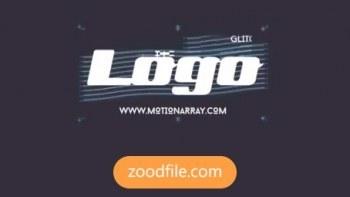 پروژه آماده پریمیر لوگو Glitch-Logo