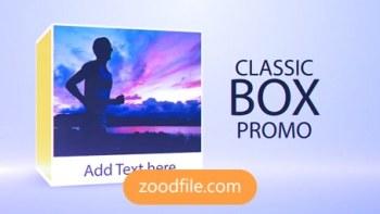 پروژه آماده افترافکت تیزر تبلیغاتی Class-Box