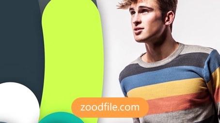 پروژه آماده افترافکت تیزر تبلیغاتی Color-Brand