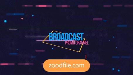 پروژه آماده افترافکت تیزر تبلیغاتی Broadcast