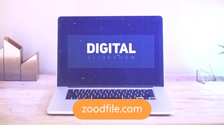 پروژه آماده پریمیر تیزر تبلیغاتی Digital
