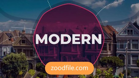 پروژه آماده پریمیر گردشگری Modern-Slideshow