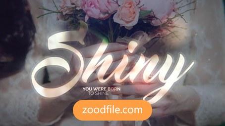 پروژه آماده افترافکت عروسی Shiny