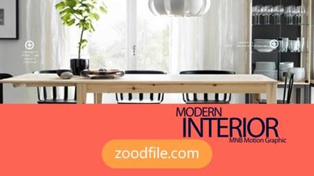 پروژه آماده افترافکت تبلیغاتی interior-modern