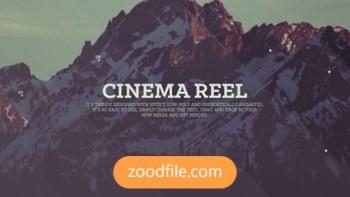 پروژه آماده پریمیر گردشگری Cinema-Reel