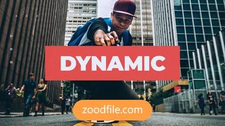 پروژه آماده پریمیر تیزر تبلیغاتی Dynamic