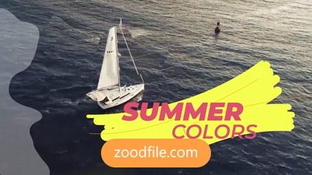 پروژه آماده پریمیر فیلم Summer