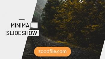 پروژه آماده پریمیر اسلایدشو Minimal-Slide