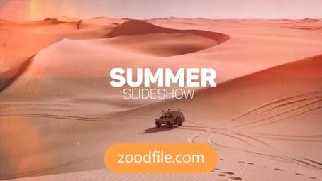 پروژه آماده افترافکت تبلیغاتی گردشگری Summer