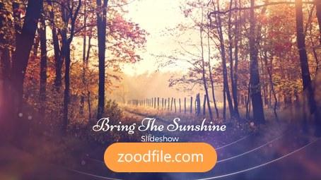پروژه آماده افترافکت اسلایدشو Sunshine