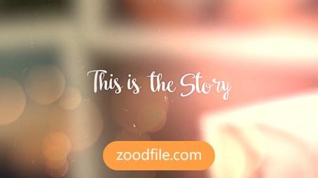 پروژه آماده پریمیر آلبوم عکس Our-Story