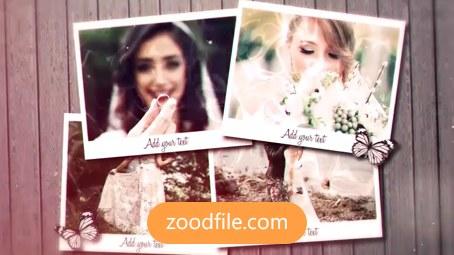 پروژه افترافکت عروسی Wedding Day