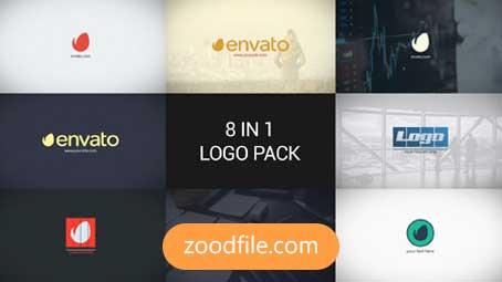 پروژه آماده افترافکت لوگو Minimal-Logo-Pack