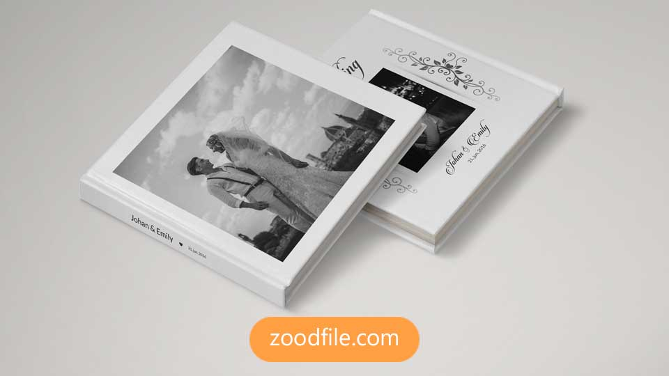 قالب آلبوم عکس عروسی Wedding