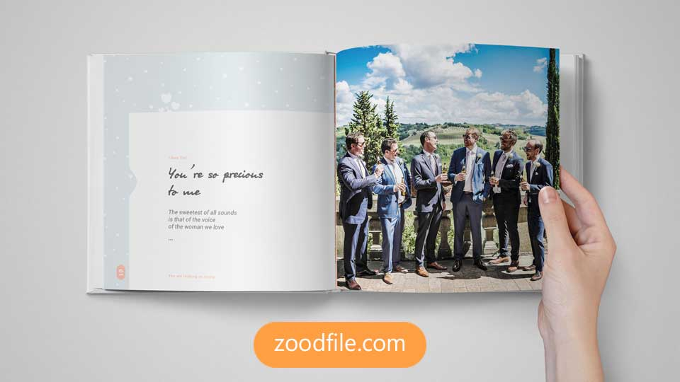 قالب آلبوم عکس عروسی Bundle