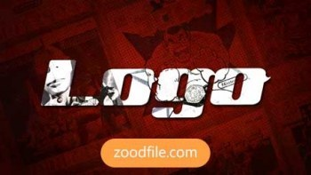 پروژه آماده پریمیر لوگو Comic-Logo